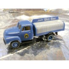 ** Brekina 35240 Beer Delivery Lorry Blue  Will Bier 1:87 HO Scale
