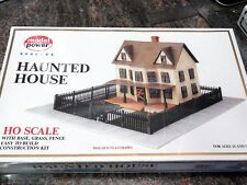 MODEL POWER #486 HO scale model kit HAUNTED HOUSE New in box