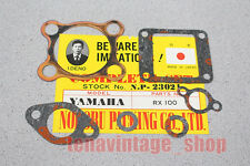 YAMAHA RX100 RX 100 ENGINE GASKET SET NOS MADE IN JAPAN NP 23021