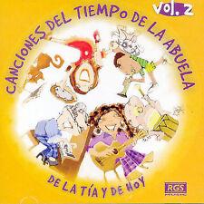 De la Canciones del Tiempo de la Abuela by Elisa Lud/Sergio Di Martino (CD,