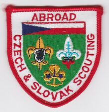 SCOUT OF CZECH AND SLOVAK -  CZECH AND SLOVAK SCOUTS & GUIDES ABROAD (ABR) Patch