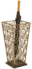 2148 - Metal Scrolled Umbrella Stand