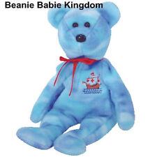 Ty Beanie Babie * Santa Maria * Azul Cristóbal Colón Bear Ty Tienda Excl