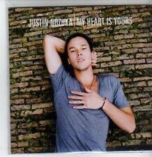 (BT419) Justin Nozuka, My Heart Is Yours - DJ CD