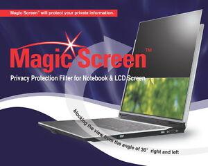 """MAGIC SCREEN- Privacy Filter, antiGlare 14.1""""_286x214mm"""