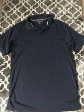 great northwest clothing company navy blue golf shirt medium