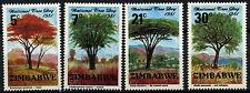 Zimbabwe 1981 SG#606-9 National Tree Day MNH Set #D50884