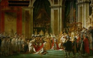 Canvas prints old master Jacques Louis David The Coronation of Napoleon painting