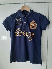 Polo Ralph Lauren Ladies Rl Club Polo Shirt Size XS Navy Blue