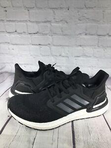 Men's adidas UltraBOOST 20 Running Shoes EF1043 Black US Men's 11