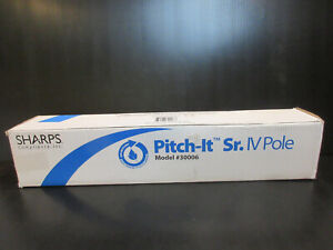 SHARPS PITCH - IT SR. IV POLE MODEL #3006 NEW