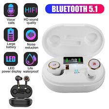 Bluetooth 5.1 Earbuds Wireless Earphones Tws Stereo Deep Bass in-Ear Headphones