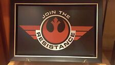 Disney Parks Authentic Star Wars Join The Resistance Wall Art Replica Prop Sign