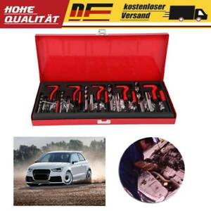 131 tlg M5 M6 M8 M10 M12 Gewinde Reparatur Werkzeug Satz Helicoil Auto Motor DHL