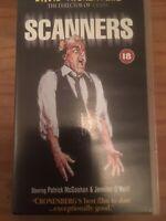 SCANNERS VHS VIDEO - David Cronenberg