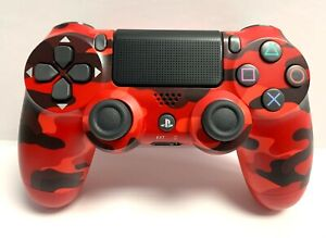 Dualshock 4 Wireless Controller Red Camouflage for Sony PlayStation 4