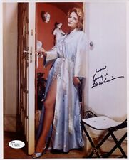 ANGIE DICKINSON HAND SIGNED 8x10 COLOR PHOTO      GORGEOUS+SEXY LEGS      JSA