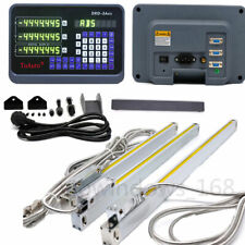 3axis Digital Readout Display Linear Scale Encode For Mill Lathe Cnc 14amp18amp38