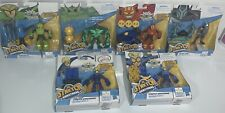 """Stretch Armstrong and The Flex Fighters 4"""" Action Figure Set - Lot 6pc-Vhtf"""