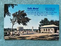 Falls Motel, Niagara Falls New York Vintage Postcard