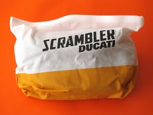 DUCATI SCRAMBLER HANDLEBAR BAG GENUINE COMPLETE KIT VERSION