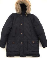 Woolrich Hooded Duck Down Winter Jacket Parka Size Large