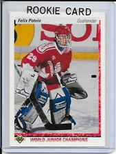 90-91 Upper Deck Felix Potvin Rookie # 458