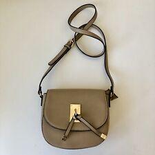 Carpisa Italian Handbag Crossbody Bag Beige Adjustable Strap