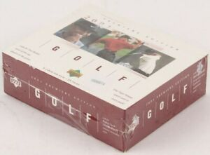 2001 Upper Deck Golf Premier Edition Box Factory Sealed TIGER WOODS RC ROOKIE 🦁