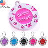 Buy 4 Get 1 Free √ FUN! Dog Tags Pet Tag Cat Tag Name ID Engraved Personalized