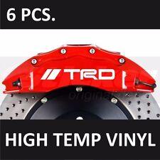 Toyota TRD #1 Premium Brake Caliper Decals Stickers Emblem Logo Corolla Camry
