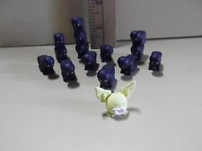 "#D24 Unknown Anime 14 Stackable 1""in Long Mini Ninjas & 1 Mini Yellow Creature"