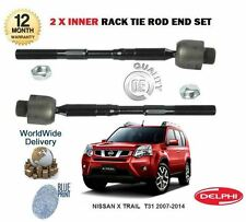 FOR NISSAN X TRAIL XTRAIL T31 2007-2014 2x INNER STEERING RACK TIE ROD END SET