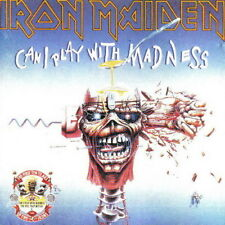 Iron Maiden Can I Play With Madness (Prowler) 1990 EMI CD Album