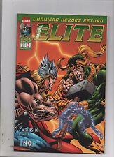 ELITE n°3 - MARVEL France Panini Comics - Mars 2001  Thor, Fantastic Four