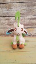 """Takara Tomy Plush Nintendo Pokemon Leafeon Stuffed Toy Collectible - 9.5"""" Tall"""