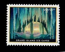 2020 $26.35 Grand Island Ice Caves Express Mail Stamp Used!