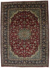 New listing Extra-Large Vintage Full Pile 10X14 Traditional Floral Style Oriental Rug Carpet