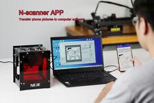 10w Mini Cnc Metal Laser Engraving Cutter Machine Carver Wireless 445nm 6000mah