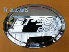 CHROME FUEL CAP TANK OIL COVER TRIM FOR NEW MAZDA BT-50 PRO 2012-ON PICK UP
