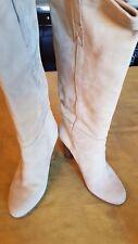 Stivali da donna in camoscio BEIGE