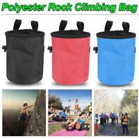Waterproof Rock Climbing Chalk Bag Magnesium Powder Pouch Non-slip Waist Bag