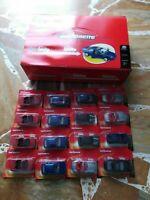 Majorette set pack 16 modellini auto  con espositore new