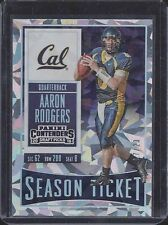 AARON RODGERS 2016 PANINI CONTENDERS DRAFT PICKS CALIFORNIA CRACKED ICE #D 17/23