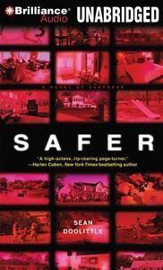 Safer : A Novel of Suspense by Sean Doolittle (2012, CD, Unabridged)5