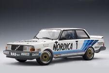 VOLVO 240 Turbo DTM ETCC 1986 #1 Cecotto Lindström Nordica Win Zold AUTOart 1:18