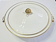 AWESOME JOHNSON BROTHERS ENGLAND COVERED VEGETABLE DISH - PAT. #46784