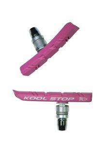 Kool-Stop KS Bmx Nut Type Brake Shoes PINK