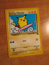 NM Pokemon SURFING PIKACHU Card BLACK STAR PROMO Set #28 Wizards of the Coast
