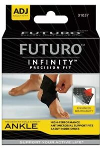 3M Futuro Precision Fit Ankle Support Brace Adjustable One Size 01037 Sprains